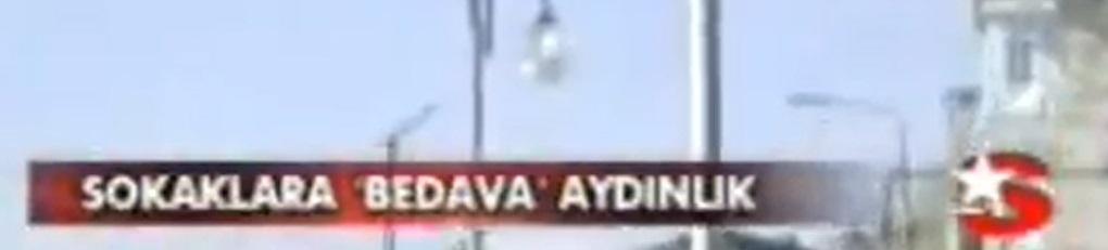 """Star TV: """"Sokaklara Bedava Aydınlık"""""""