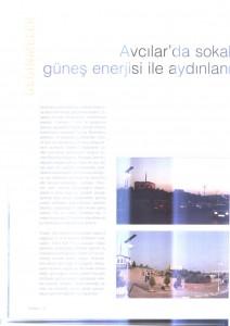 Floraplus: ''Avcılar'da sokaklar güneş enerjisiyle aydınlanıyor.''