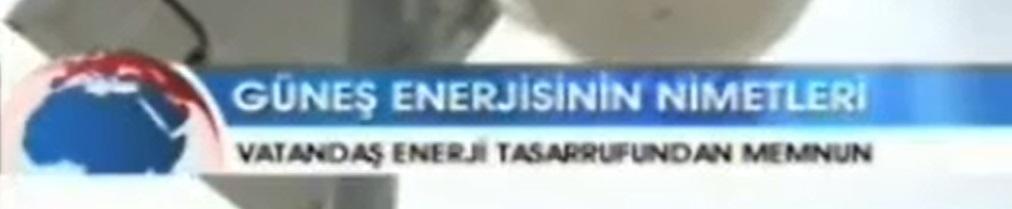 """Kanal A: """"Güneş Enerjisinin Nimetleri."""""""