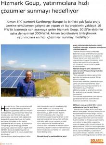 solarex eylül-ekim