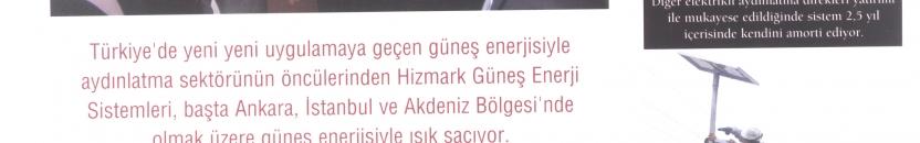 """Enerji Dergisi: """"Güneş enerjisiyle büyüyen marka."""""""
