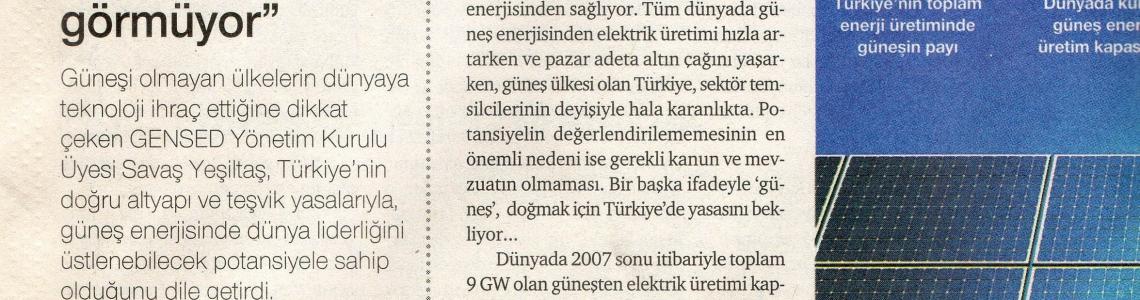 """Dünya Gazetesi-Hizmark Group""""Türkiye, üzerine doğan güneşi görmüyor"""""""