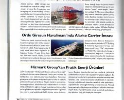 Enerji ve Çevre Dünyası Dergisi Hizmark Pratik Enerji Ürünleri Yazısı
